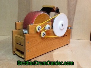 Deluxe Baby Carder - Brother Drum Carder