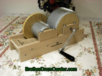 Standard Baby Carder  - Brother Drum Carder