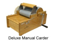 Deluxe Manual Carder