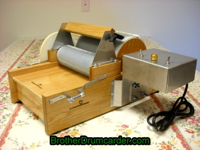 Motorized Carder - Brother Drum Carder