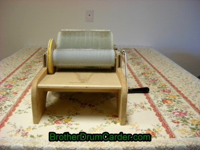 Stylish Carder - Brother Drum Carder